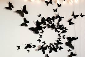butterfly room decor Girly Butterfly Decorations Ideas For Wall