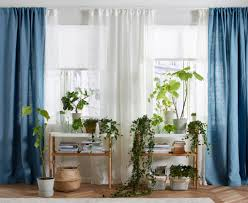 Blue Green Sheer Curtains Bedroom Sheer Curtains Rolgordijnen Ikea Valances For Bedroom