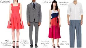 wedding dress code decoding the wedding guest dress code oak district