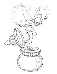 tinkerbell coloring pages 11 coloring kids