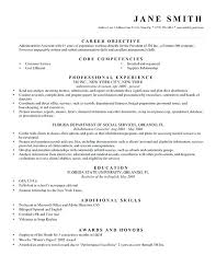 writing a resume objective u2013 inssite