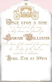 once upon a time baby shower invitations reduxsquad com