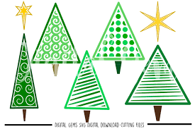 margarita glass svg christmas tree svg dxf eps png files by digital gems