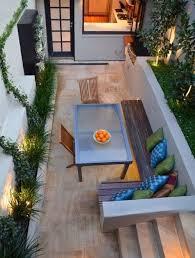 Best Small Garden  Courtyard Ideas Images On Pinterest - Concrete backyard design ideas