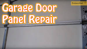 garage door covers style your garage diy how to repair or replace a single garage door panel