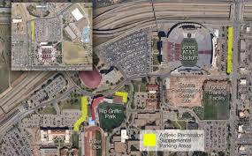 Angelo State University Map by Student Athletes Transportation U0026 Parking Services Ttu