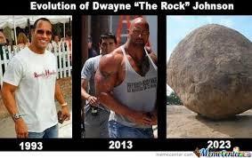 Dwayne Johnson Meme - evolution of dwayne johnson by david43 meme center