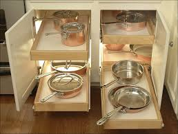 Kitchen Cabinet Sliding Organizers - pull out drawers cabinet storage under drawer organizer 2 tier