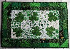st patrick s day table runner leprechaun hats these hats are just too cute and a fun way to