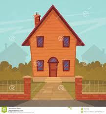 cartoon house stock vector image 49567095