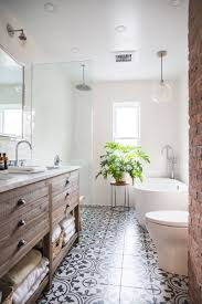 bathroom floor design tour a fashion designer s mid century home in