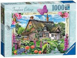 Country Cottage Needlework by Ravensburger Country Cottage Collection Foxglove Cottage Puzzle