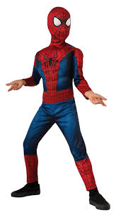 spiderman halloween costume marvel classic spider man child