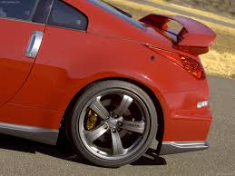 nissan 350z rear spoiler nismo nissan 350z 2007 pictures information u0026 specs