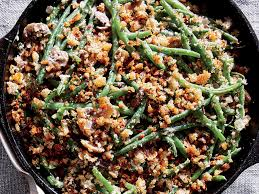 skillet green bean casserole recipe cooking light