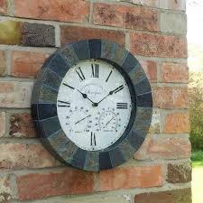 modern kitchen clocks 20 ways to modern outdoor clock