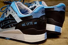 asics black friday asics gel lyte iii u0027black carolina blue u0027 global exclusive re