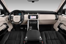 land rover interior 2016 2016 land rover range rover cockpit interior photo automotive com