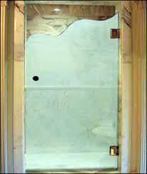 Decorative Shower Doors Green S Glass Screen Shower Doors Decorative Glass Repairs