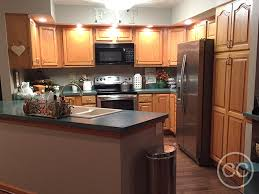 farmhouse style kitchen with oak cabinets classic cupboards paint 43 golden oak cabinets painted