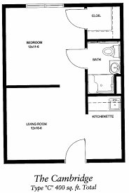 download 300 sq ft apartment floor plan home intercine 400 house