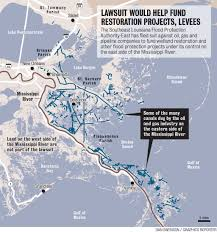 South Louisiana Map by Historic Lawsuit Seeks Billions In Damages From Oil Gas Pipeline