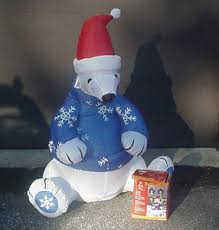 Christmas Outdoor Decorations On Ebay by 46 Best Christmas Polar Bear Ebay Images On Pinterest Holidays