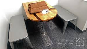 Office Kitchen Tables by 51 Diy Table Ideas Built With Pipe Simplified Building