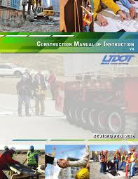 udot construction manual of instruction by tlcs issuu
