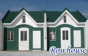 Row House Model - greenbrier village san mateo rizal test site