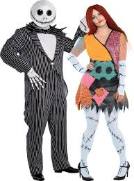 Size Halloween Costumes Men Size Nightmare Christmas Couples Costumes Party