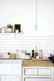 Kitchen With Subway Tile Backsplash Subway Tile Backsplash Subway Kitchen Tiles White Tile Home