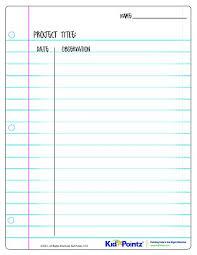 science observation worksheet free worksheets library download