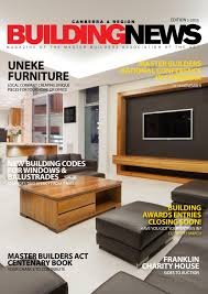 building news 1 2013 by master builders association of the act issuu