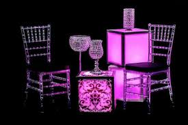 table and chair rentals orlando led small glow cubes orlando wedding and party rentals special