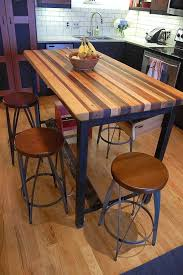 butcher block kitchen table butcher block kitchen island house of v pinterest butcher