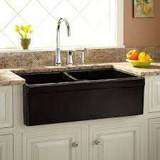 Top Kitchen Faucet Sinks Classic Cottage Kitchen With Black Acrylic Divided Kitchen