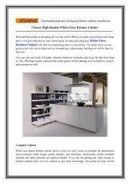 white gloss kitchen cabinets choose high quality white gloss kitchen cabinet by