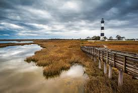 North Carolina landscapes images Outer banks north carolina bodie island lighthouse landscape nc jpg