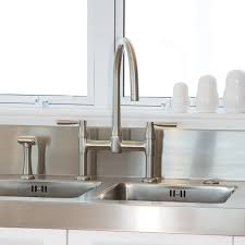 Perrin Rowe Faucet Io Two Hole Sink Mixer With Lever Handles And Rinse Perrin And Rowe