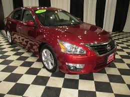 red nissan altima 2015 used nissan altima sedan i4 2 5 at speedway auto mall serving