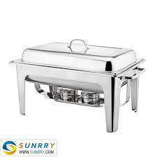 sy bu105a rectangular roll top chafing dish set 8 5l single pan