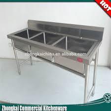 home decor stainless steel freestanding sink corner kitchen sink