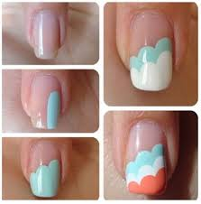 easy at home nail designs cool design inspiration cd ambercombe com
