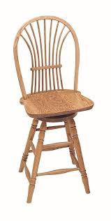 Wooden Swivel Bar Stool Keystone Wheat Back Swivel Barstool From Dutchcrafters Amish Furniture