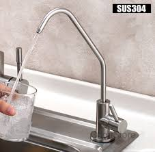 kitchen water faucet 304 stainless steel kitchen sink water faucet filter