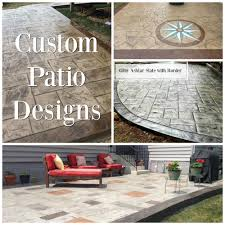 Patio Concrete Designs by Blackwater Concrete Decorative Concrete Concrete Countertops