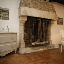 Bed And Breakfast Fireplace by The Glenmor Coeur De Bretagne