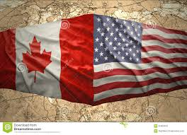 Political Map Of United States And Canada by United States Of America And Canada Stock Photo Image 35309340
