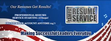 Starting A Resume Writing Service Home Tampa Resume Service Impressing Employers Since 1997